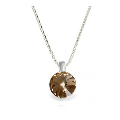 Collier Crystal Jewellery, Champagne