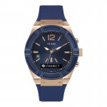 Montre Guess Connect, bleue - C0001G1