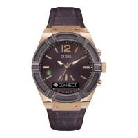 Montre Guess Connect, marron - C0001G2