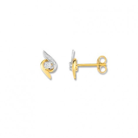 Boucles d'oreilles Diamants pendantes