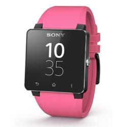Bracelet de montre SONY, rose