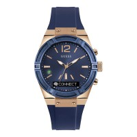Montre Guess Connect, bleue - C0002M1