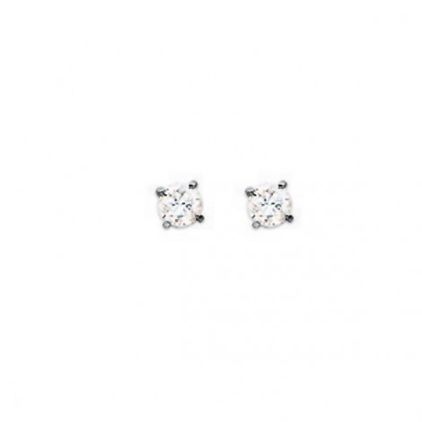Boucles d'oreilles Diamants (0,150 carat), or 18 carats
