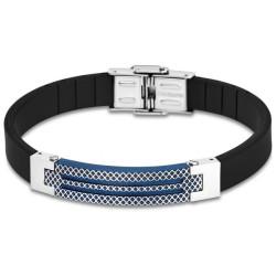 Bracelet Lotus Style, bi-matière