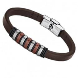 Bracelet Lotus Style, bi-matière - LS1827-2/3