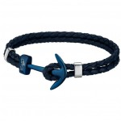 Bracelet Lotus Style, Ancre bleue