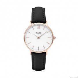 Montre Cluse, Minuit Rose Gold White, CL30003