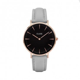 Montre Cluse, La bohème Rose Gold Black, CL18018