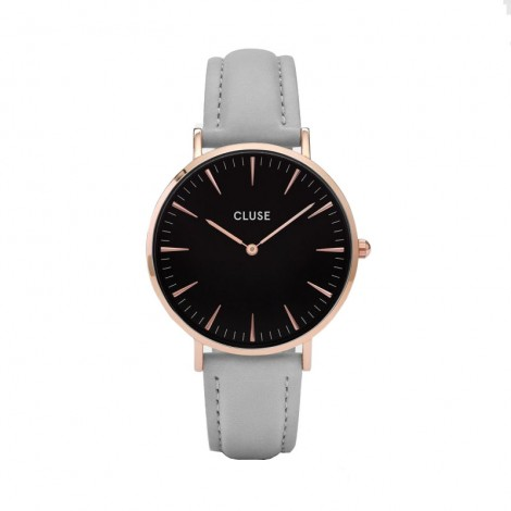 Montre Cluse La bohème Rose Gold Black / Grey CL18018