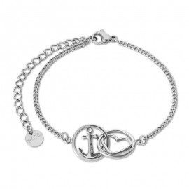 Bracelet Tom Hope, Love argenté TM0380