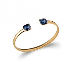 Bracelet Jonc Oxyde bleu