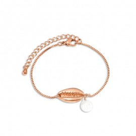 Bracelet Tom Hope, Maldives rose doré - tm0614