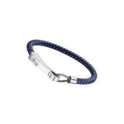 Bracelet Lotus Style, bi-matière bleu, LS1977-2/3
