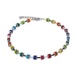 Collier Coeur de Lion, Geo Cube, Multicolore