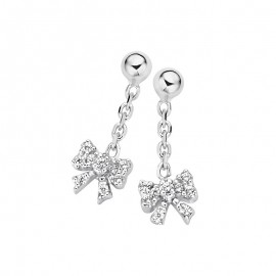 Boucles d'oreilles Naiomy Princess, pendantes Rubans