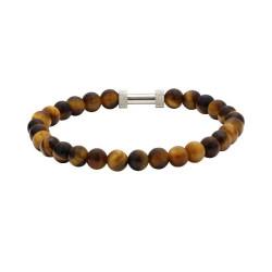 Bracelet Zen, Rochet, marron