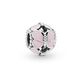 Pandora Charm Papillon Rose