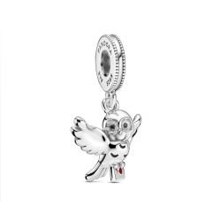 Pandora Charm Hedwige en argent