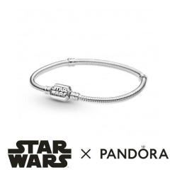 Bracelet Pandora x Star Wars, avec un fermoir Logotypé Star Wars - 599254C00