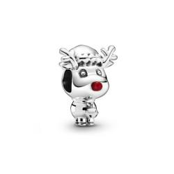 Pandora Charm Rudolph, le renne au nez rouge - 799208C01