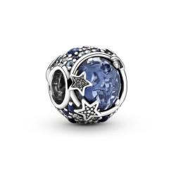 Pandora Charm Céleste étoiles bleues -799209C01