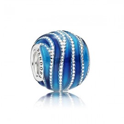 Pandora Charm Vague bleue - 797012ENMX