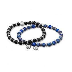Bracelet Tom Hope, Laguna Marron&Noir - TM0506