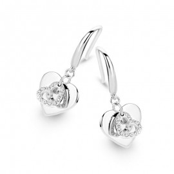 Boucles d'oreilles Naiomy, Coeurs - B0E08