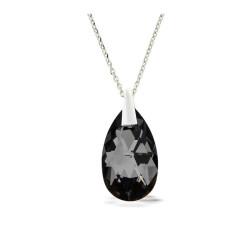Collier Crystal Jewellery, Goutte noire