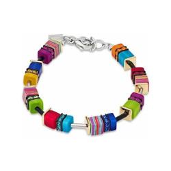 Bracelet Coeur de Lion, Geo Cube, Multicolore